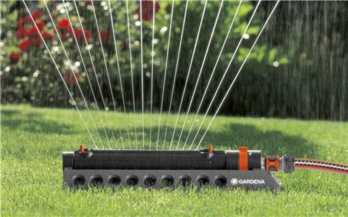 Gardena 1971-20 Aspersor oscilante Comfort Aquazoom