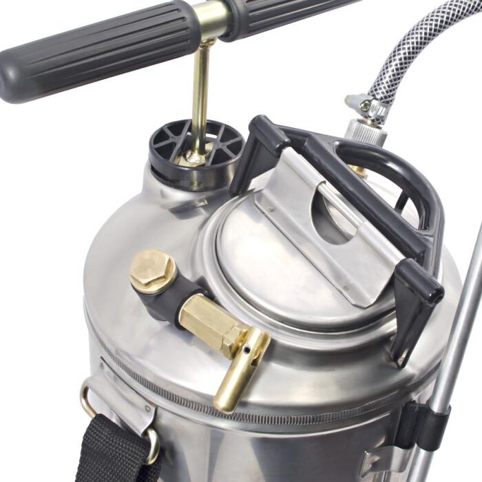 Guarany  0441.00 Aspersora Super 2 de acero inoxidable  10 litros