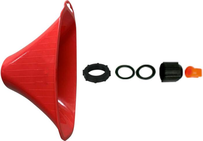 Kawashima  CAD boquilla campana de aspersión dirigida
