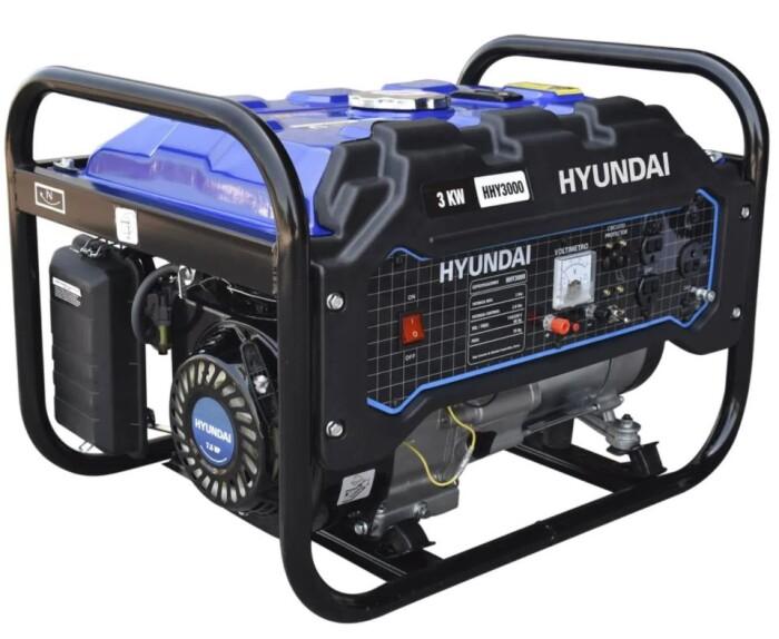 Hyundai HHY3000 Generador  3000 watts  7.5 Hp