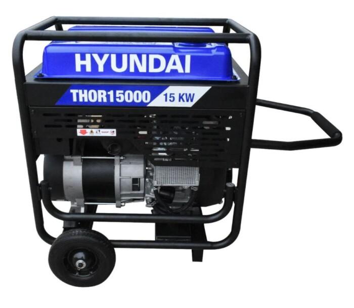 Hyundai THOR15000 Generador a gasolina 15000 watts 110/220v