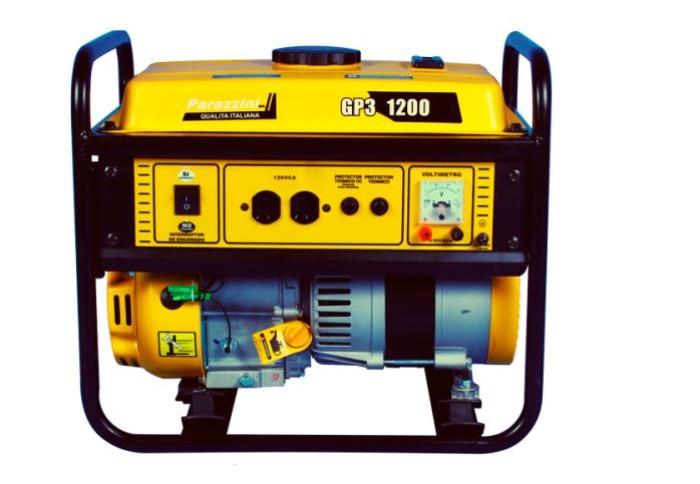 Parazzini GP31200 Generador 1200W 3HP 4 tiempos