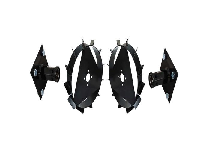 Ducati 0117B0104M juego de ruedas metálicas para motoazada con ejes 40 cm
