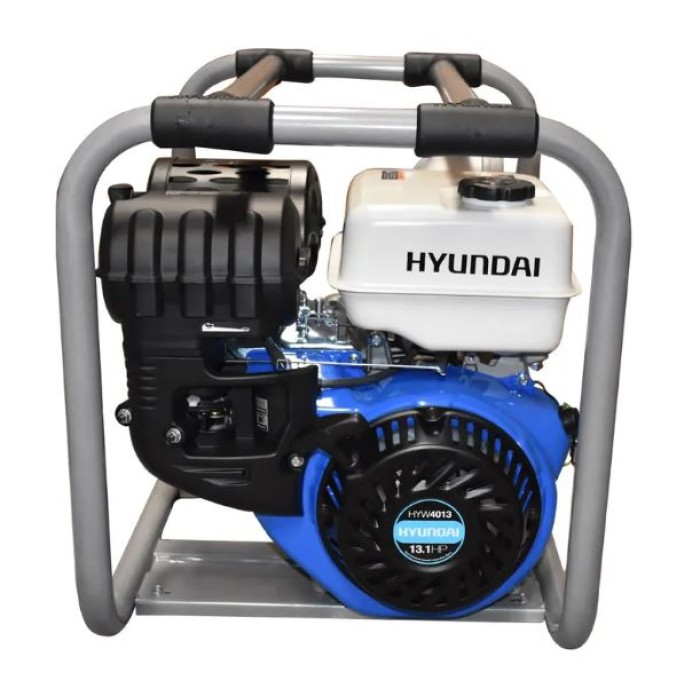 "Hyundai HYW4013 Motobomba autocebante 13.1HP 4"""