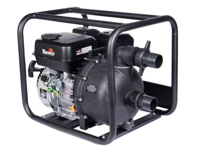 Toyama TWP50Q-XP Motobomba para químicos  2 x 2 7 Hp