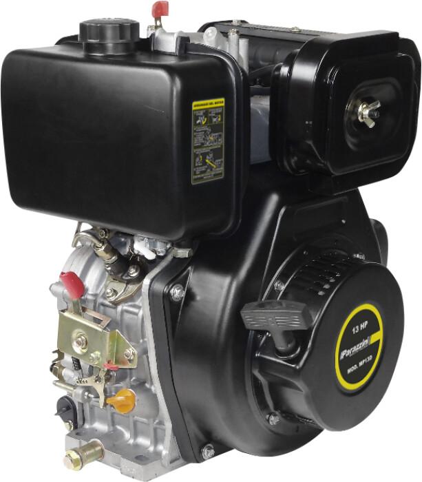 """Parazzini MP13D Motor  4 tiempos OHV diésel 13 Hp  cuñero 1"""""""
