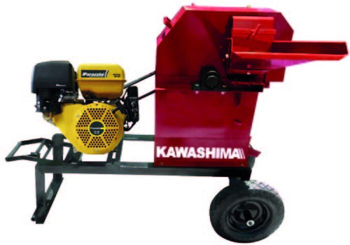 Kawashima PP3500EK Picadora de forraje 3500 con motor Parazzini 16Hp
